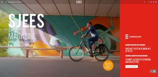 Cover online Sjees Magazine - Gemeente Eindhoven