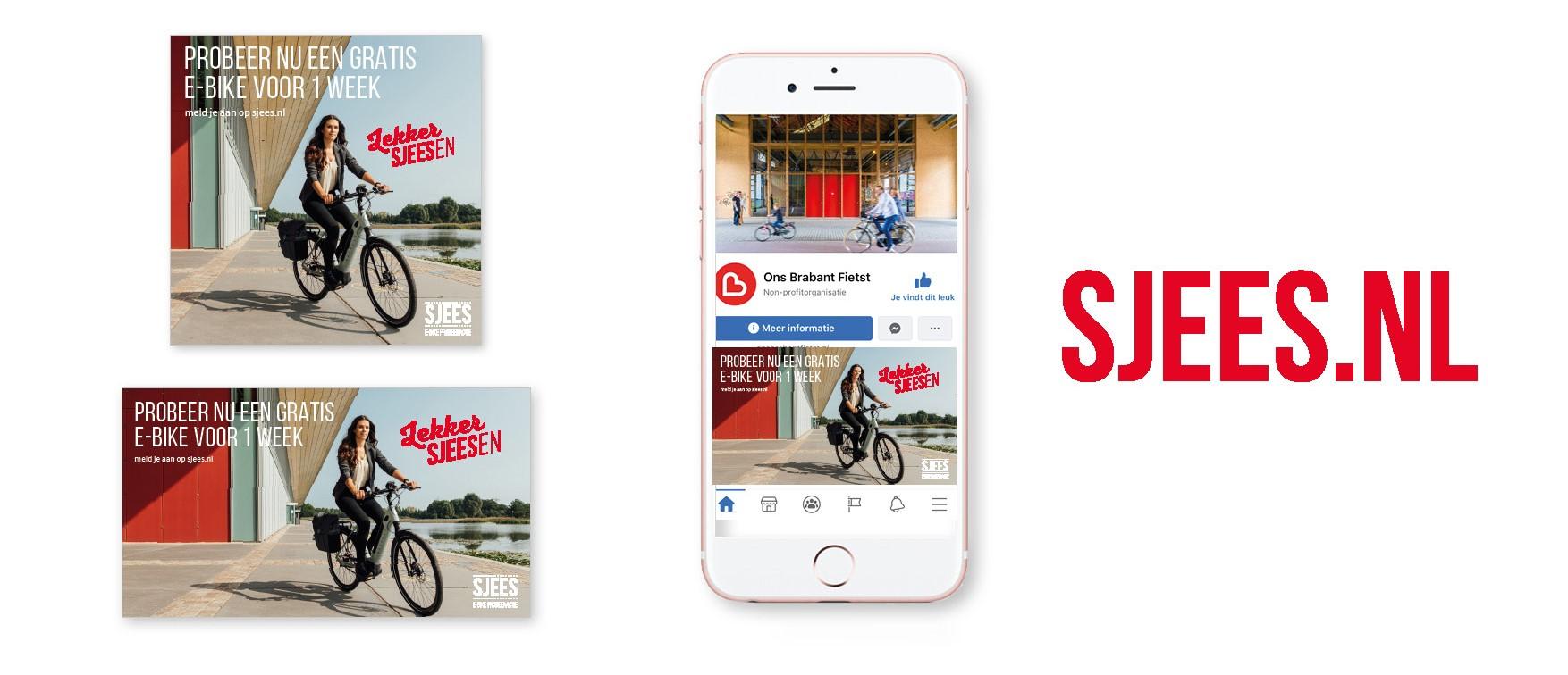 Online promotiemiddelen e-bike probeeractie